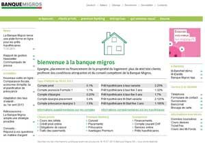 Site www.migrosbank.ch
